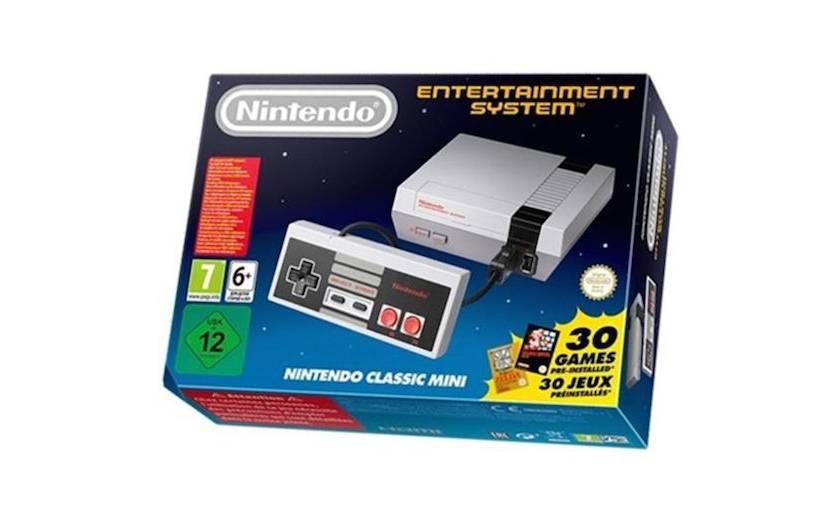 console Nintendo Classic Mini NES à 47,99€