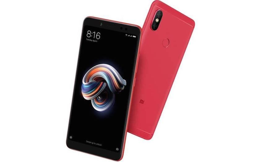 smartphone Xiaomi Redmi Note 5 à 129€