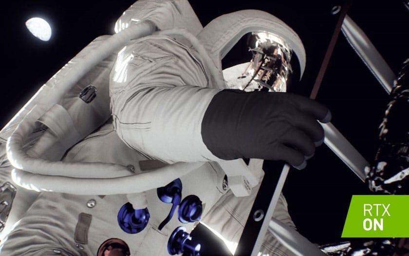 Nvidia recrée l'alunissage d'Appllo 11 avec ray tracing