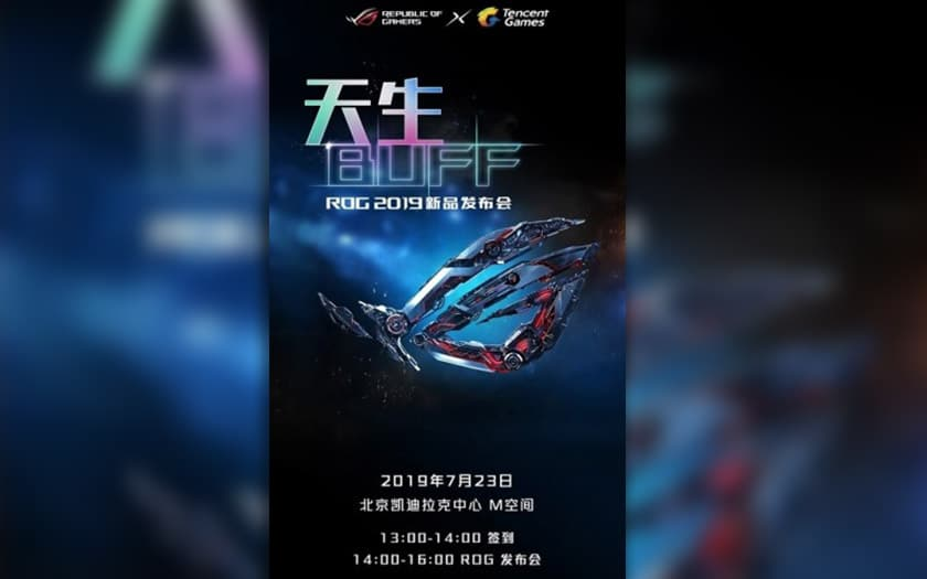 asus rog phone 2 presentation officielle 23 juillet 2019