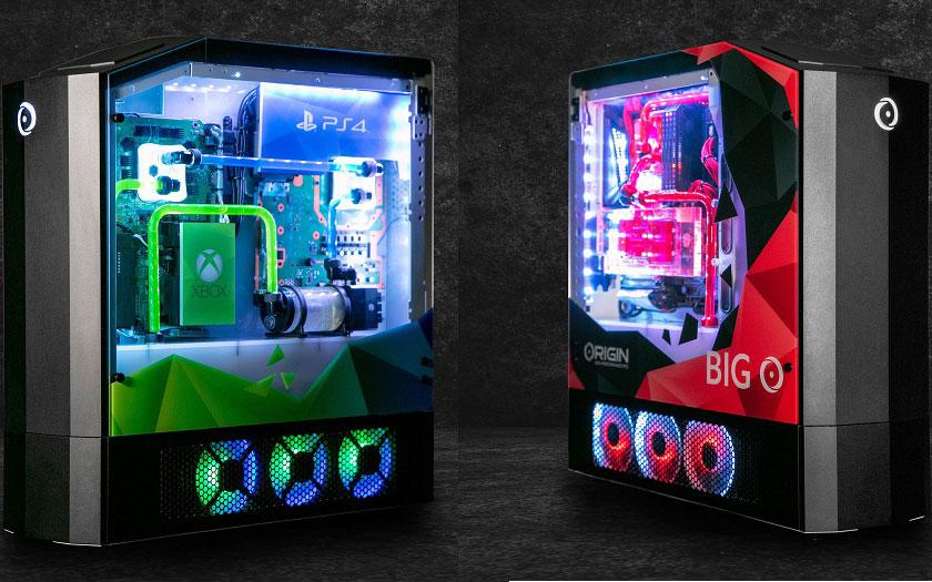 PS4 Pro, Xbox One X, Switch et PC en une seule machine : Origin Big O