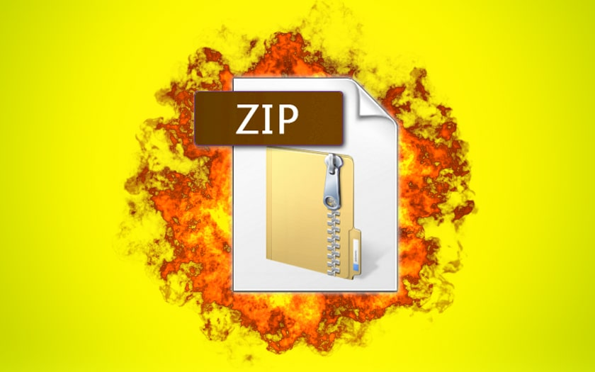 Malware : ce fichier Zip piégé de 49 Mo explose en un fichier de 4500 pétaoctets !