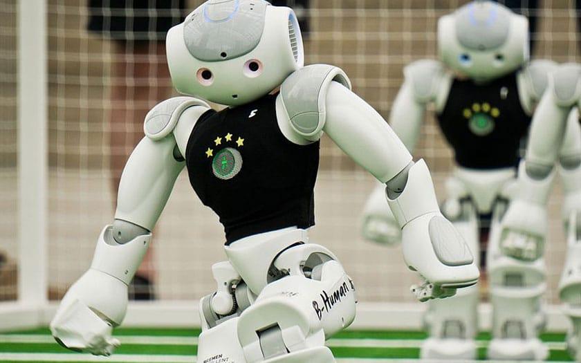 Coupe du monde de foot des robots