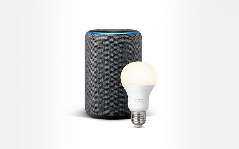 echo plus + ampoule philips Hue