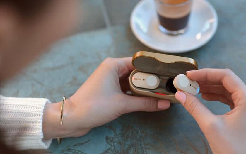 Écouteurs sans fil Sony WF-1000XM3