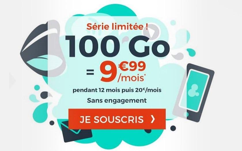 Carte Cdiscount Mobile.Cdiscount Mobile Le Forfait 100go Est A 9 99 Par Mois