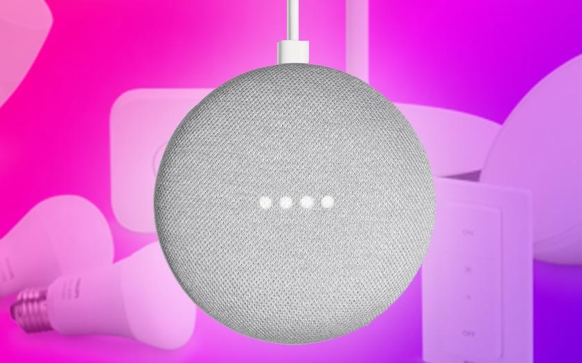 Google Home lumières