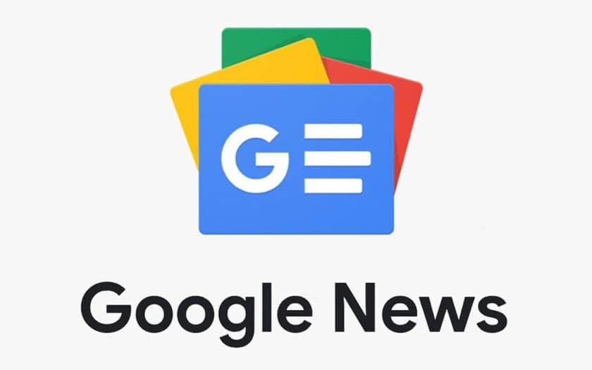 Google Actualités nouveau design
