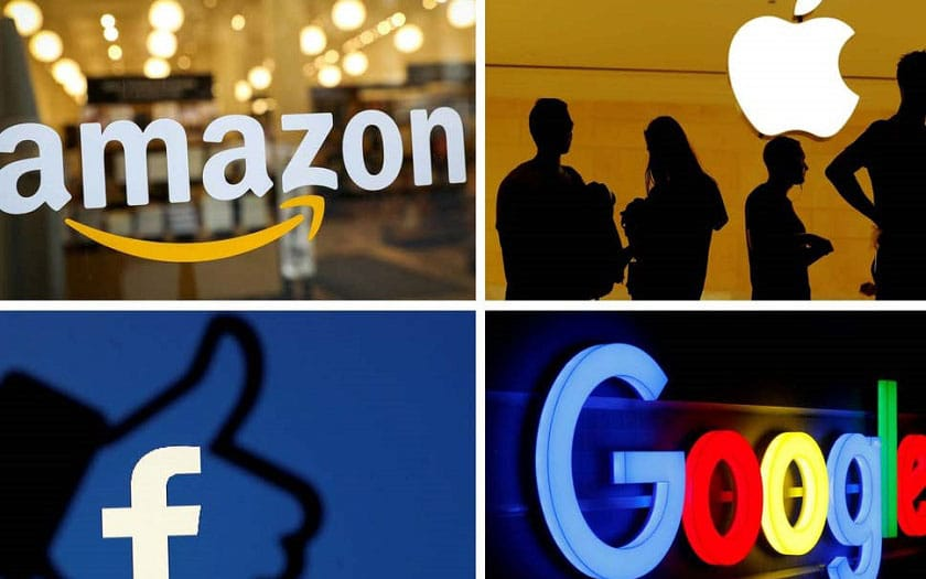 Google, Facebook, Amazon et Apple