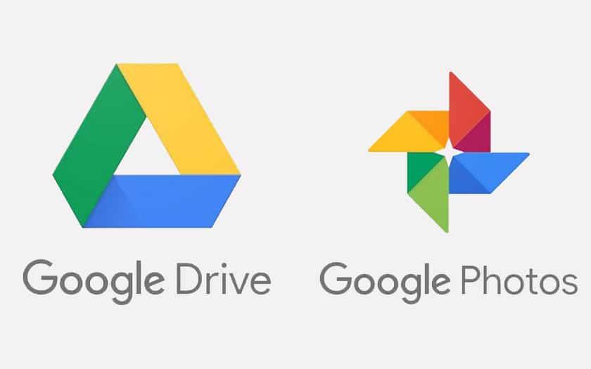 Fini la synchronisation entre Google Drive et Google Photos