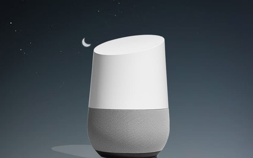 google home activer mode nuit
