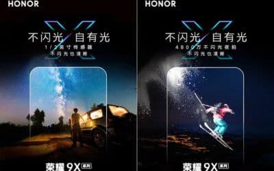 Honor 9X et 9X Pro