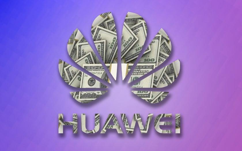 huawei chiffre affaire 23% hausse malgré décret donald trump