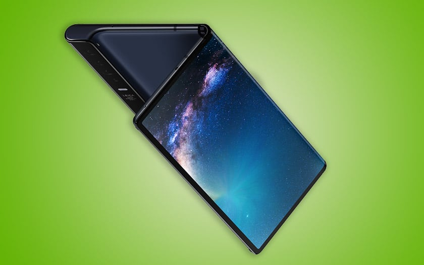 huawei mate x smartphone pliable sortie avant galaxy fold samsung