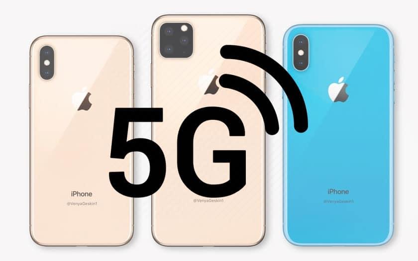 iPhone 5G : le premier modem Apple est attendu pour 2021