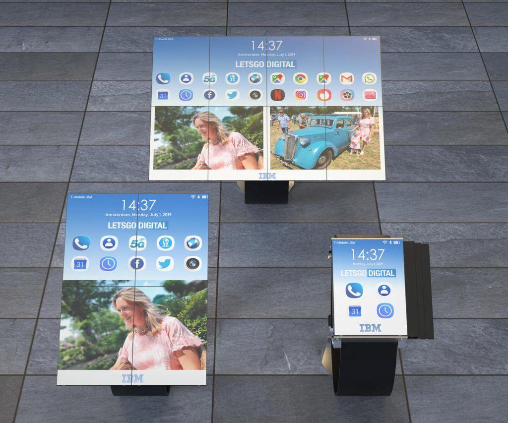 ibm smartwatch tablette