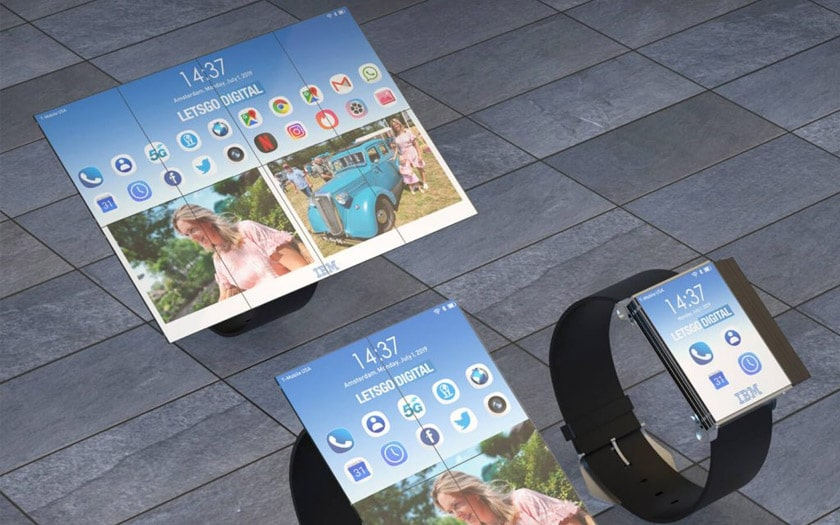 ibm smartwatch tablette