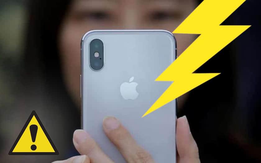 iPhone failles critiques