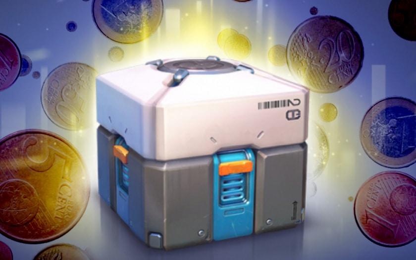 loot boxes, achats intégrés argent