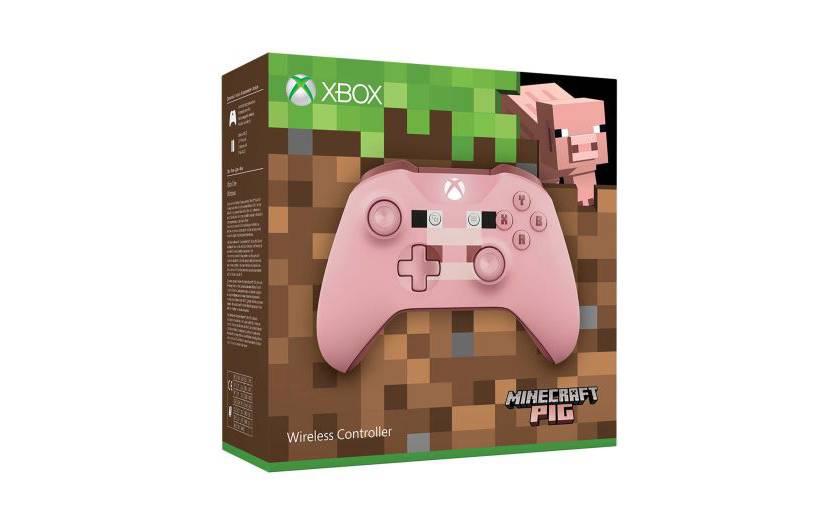 manette sans fil Xbox One édition limitée Minecraft Pig à 37,03€