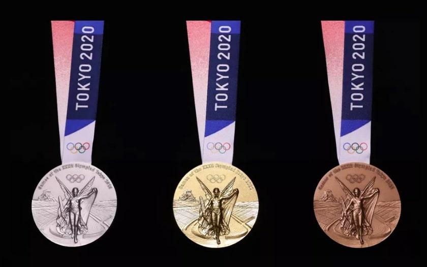 Voici les médailles des JO 200 de Tokyo recyclés des smartphones