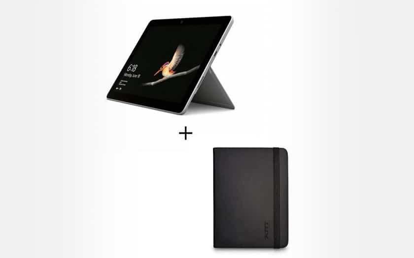 Bon plan : Microsoft Surface Go + housse de protection à 299.99 €