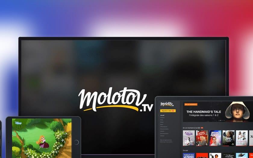 molotov tf1 coupe chaînes continue diffuser