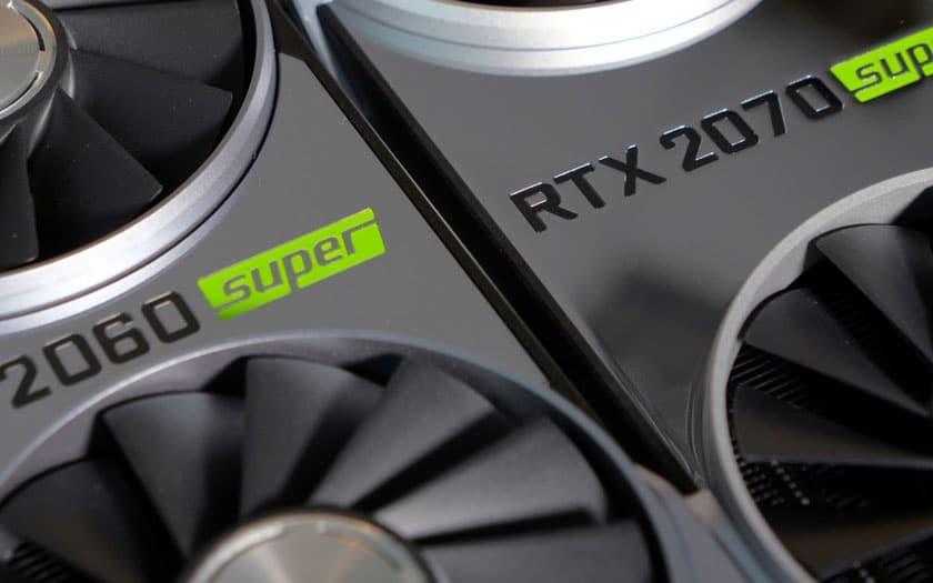 Nvidia officialise ses cartes graphiques RTX 2080, 2070 et 2060 Super