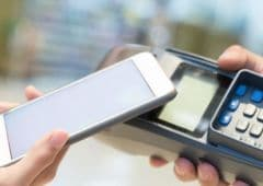 paiement sans contact smartphone