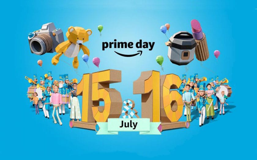 Promos Amazon Prime Day 2019 du 15 au 16 juillet