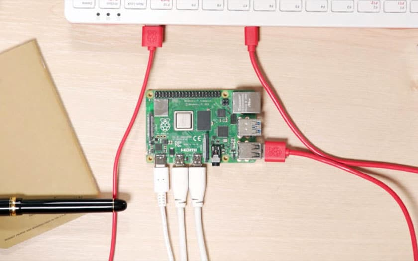 Raspberry Pi 4 défaut USB-C