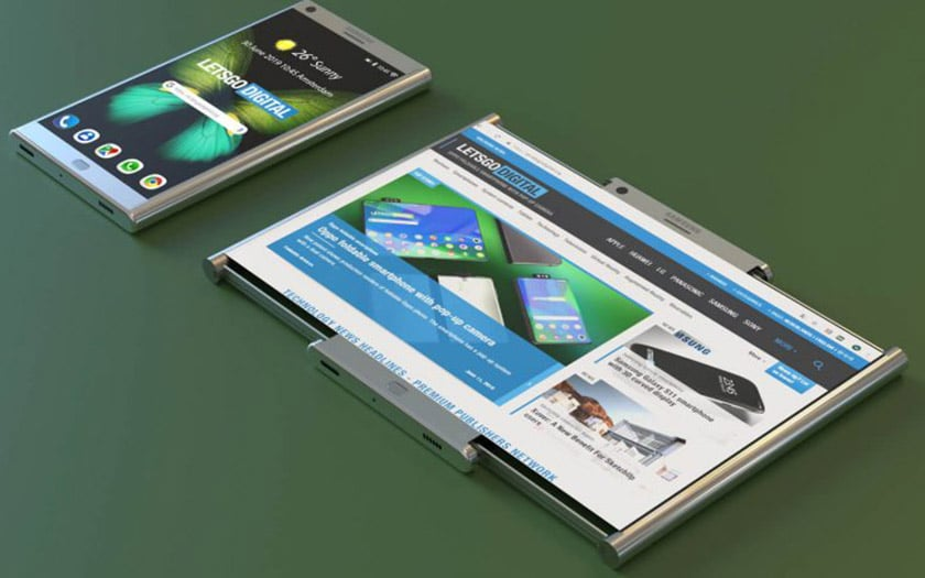 samsung imagine smartphone convertible tablette