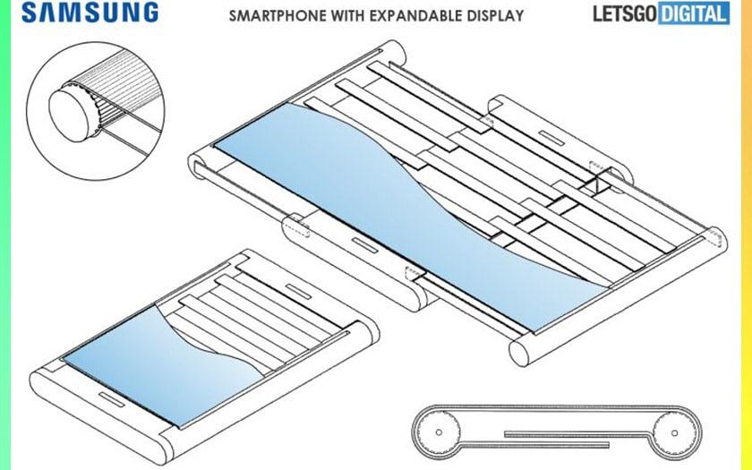 samsung imagine smartphone tablette écran extensible
