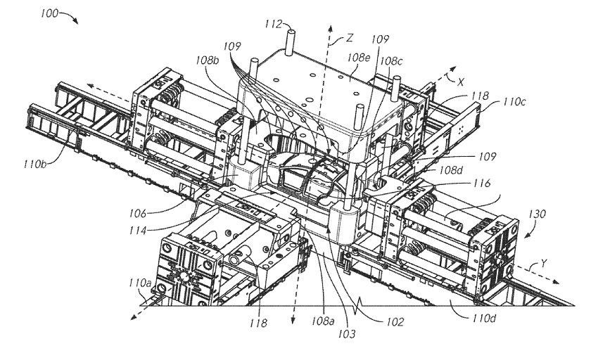 tesla model y   un robot g u00e9ant pour la produire en un temps record