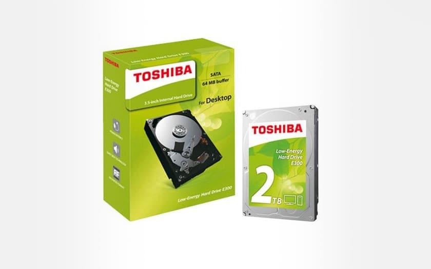 toshiba disque dur 2 To