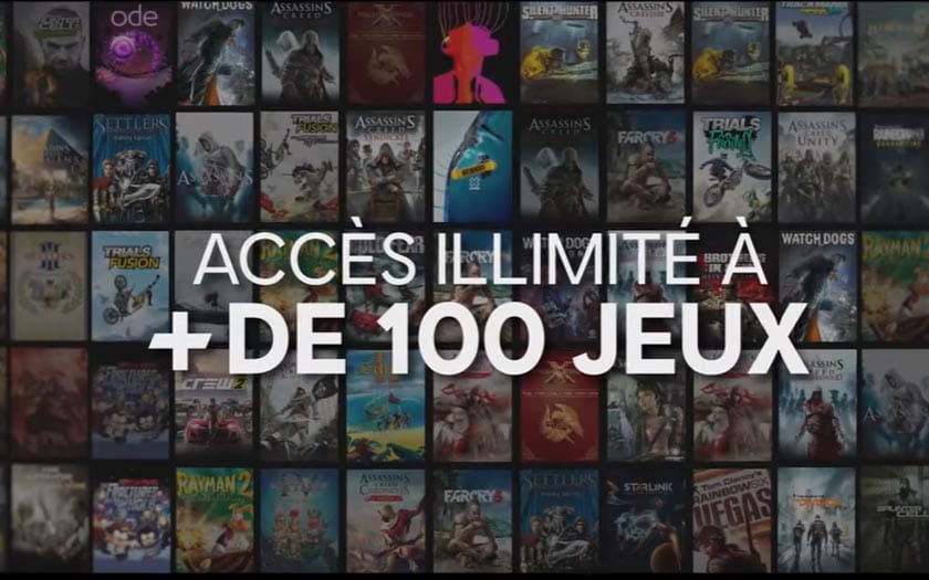 uplay plus catalogue de jeux