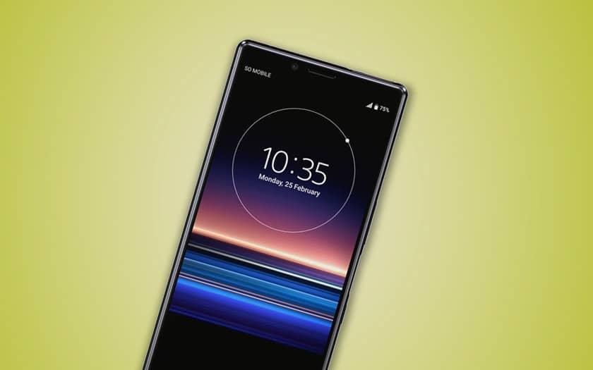 xperia 1r sony premier smartphone écran 5k