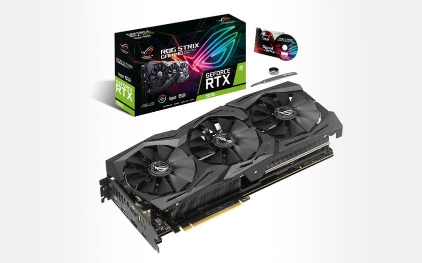 Asus GeForce RTX 2070 ROG Strix A8G - 8 Go