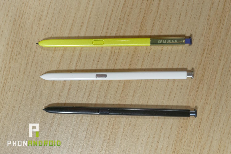 s-pen note 10