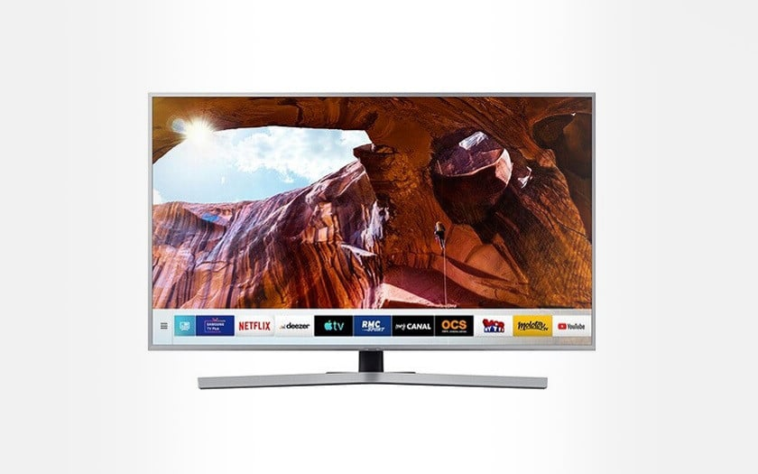 TV LED 4K UHD Samsung UE55RU7475