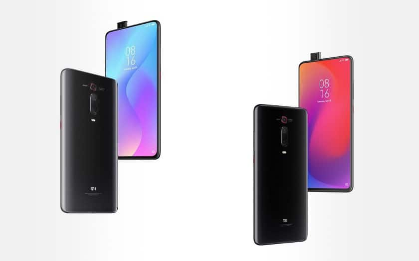 Smartphones Xiaomi Mi 9T et Mi 9T Pro au meilleur prix