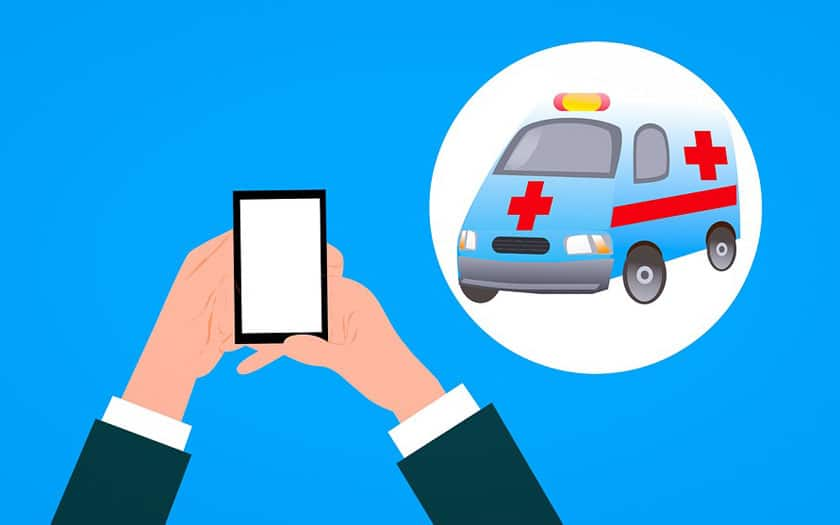 Android appel d'urgence
