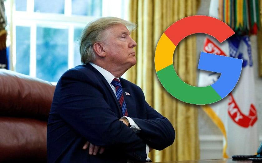 donald trump accuse google manipuler élections américaines 2020
