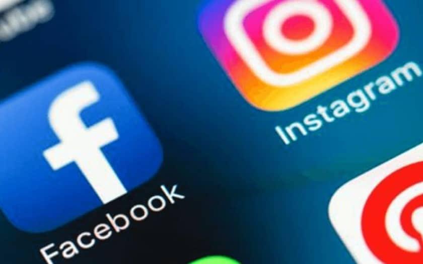 Facebook Messenger et Instagram