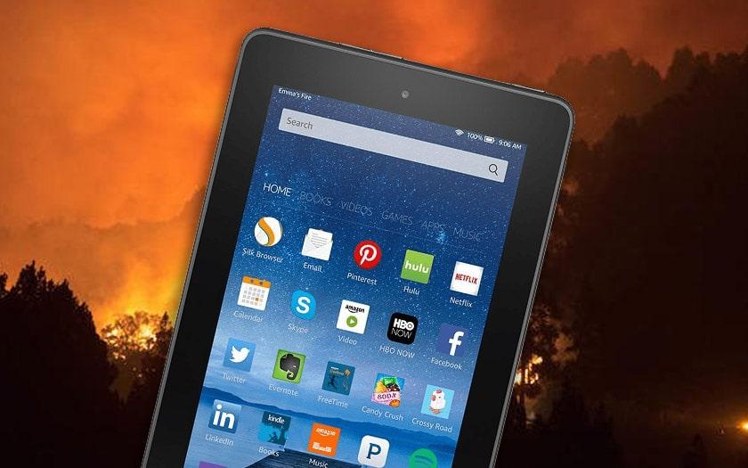 foret amazonienne brule google met avant tablettes amazon