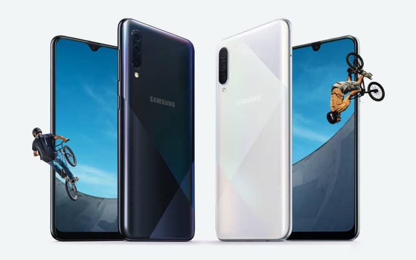 Samsung Galaxy A50s et A30s