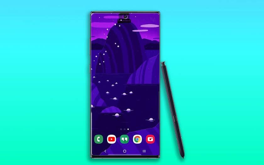 Galaxy Note 10 Samsung Dévoile Des Fonds Décran Officiels