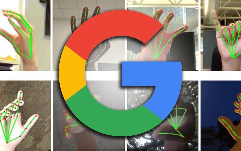 google traduire langue signes smartphone