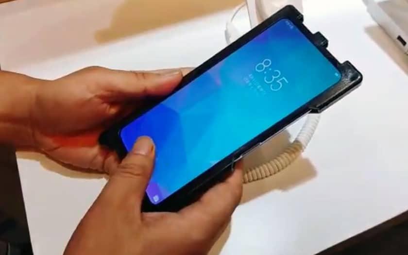 Huawei : smartphone LCD avec capteur d'empreinte sous l'écran
