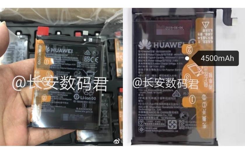 huawei mate 30 batterie